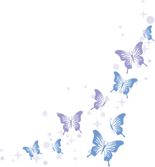 Butterfly corner frame