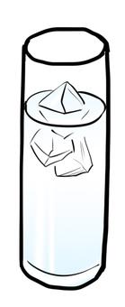 Water · water split glass