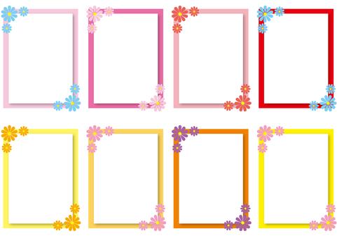 花文件 - 溫暖的顏色