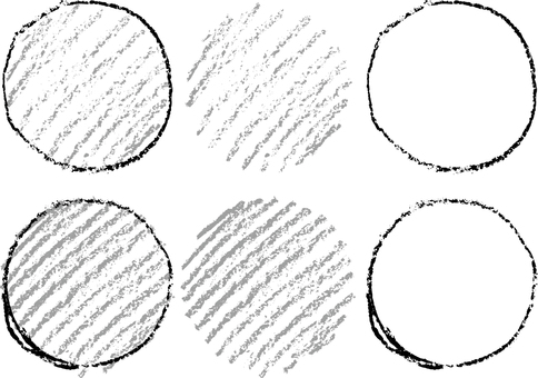 Crayon circle a