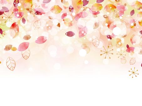 Autumn color frame ver108