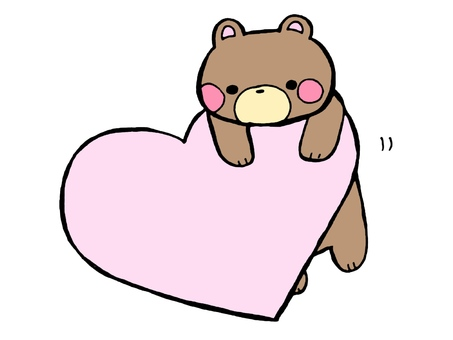 Kuma and Heart 2 3