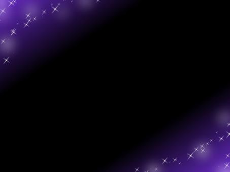 보라색 판타지 반짝이 프레임
