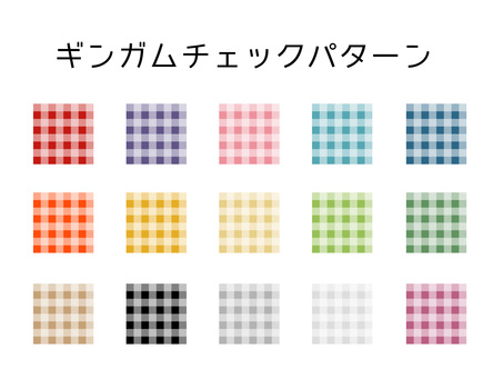 Background pattern (gingham check)