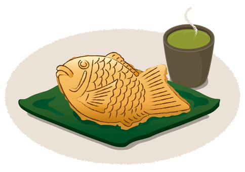 A relieved breath with Taiyaki