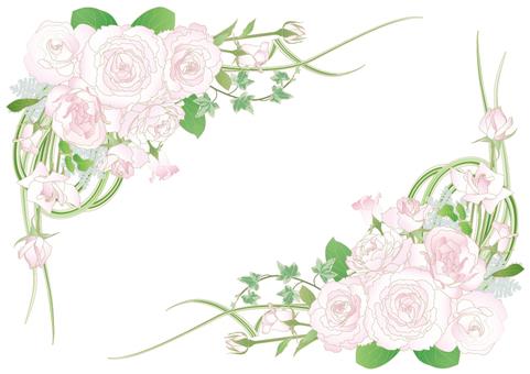 Rose bouquet_ corner