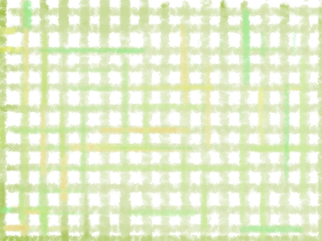 Gingham check background yellow green