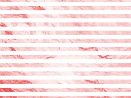 Watercolor water pink horizontal stripe