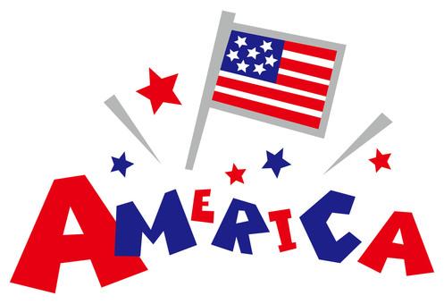 AMERICA ☆ USA ☆ logo