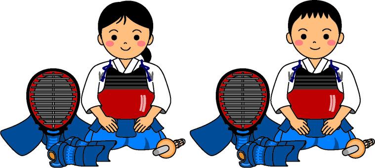 Kendo kids regular seat 2