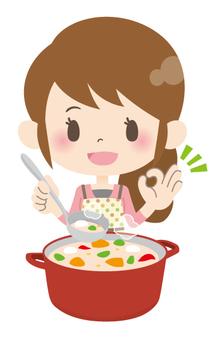 Housewife A * Cuisine _ Simmer OK