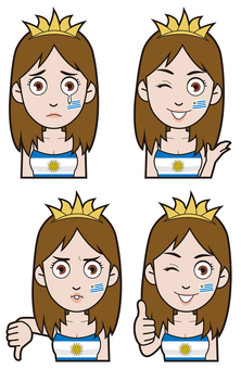 Uruguay national supporter 3