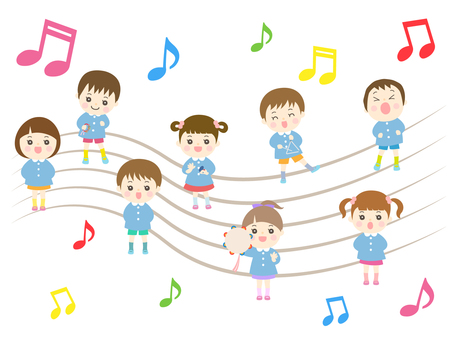 Preschool music concert _ boys and girls
