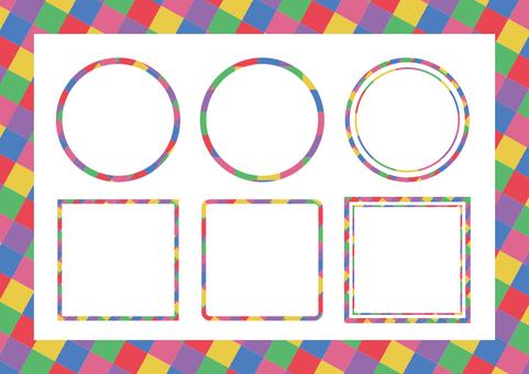 Rainbow frame 02