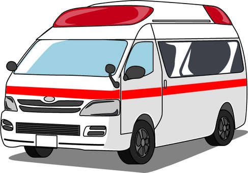 Ambulance accident illness emergency hospital vehicle