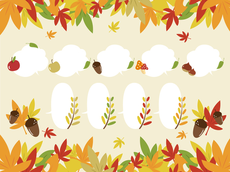 Autumn frame material_02