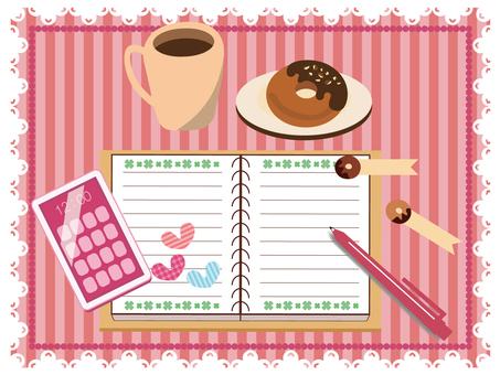Wallpaper (Girly Taste Desk Image