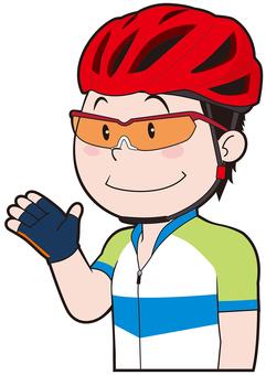 Cyclist (male)