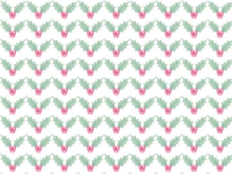 Hiragana pattern drawing with transparent watercolor