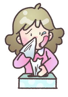 Hay fever women ②
