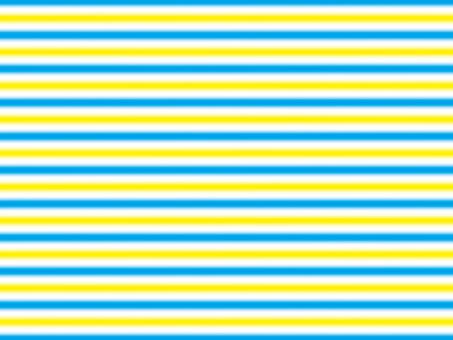 스트라이프 흐림 C 파란색과 노란색