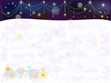 Winter background -1