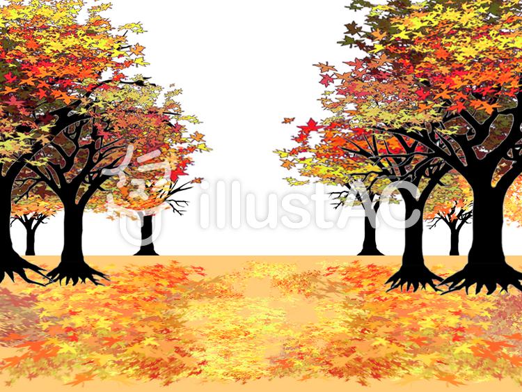 秋の森イラスト No 587452無料イラストならイラストac