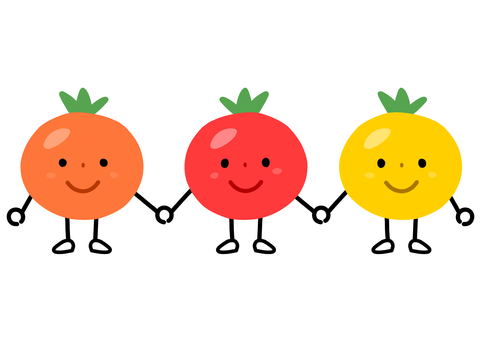 Friends of mini tomato