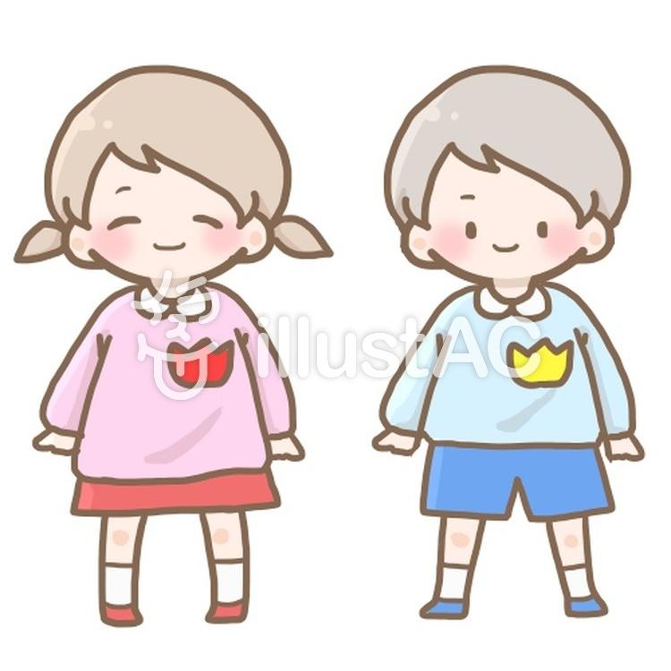 かわいい幼稚園児イラスト No 1235425無料イラストならイラストac
