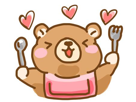 Bear meal
