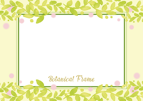 Botanical frame 6