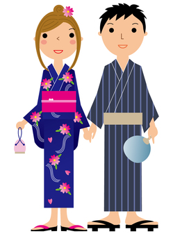 Yukata couple
