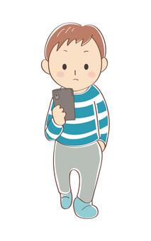 步行智能手機