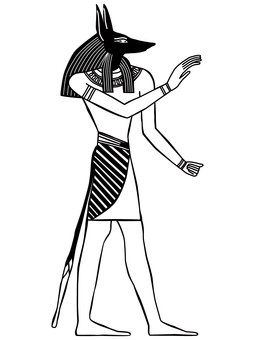 Egypt Illustration Anubis-7