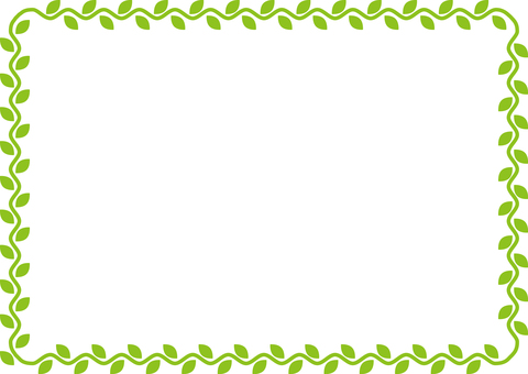 Plant (ivy) frame
