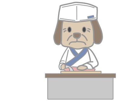 犬_料理人_和食2c