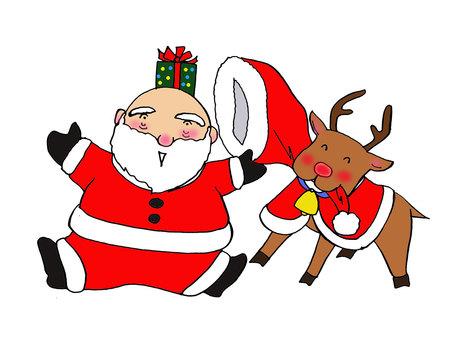 Illusion Santa