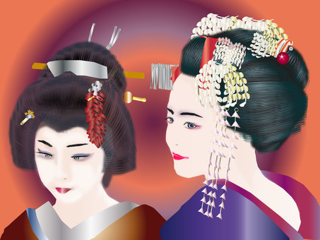 Maiko two people 01