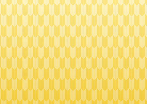 Yajiri pattern (gold / gradation)