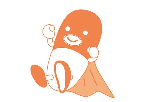 Capsule Man (Orange)