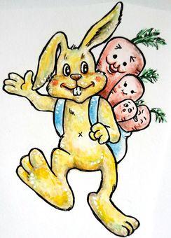 Carrots rabbit