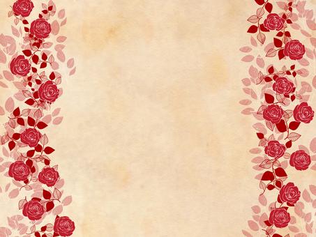 Roses pattern wallpaper