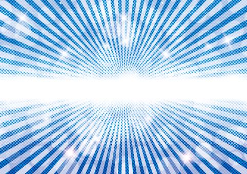 Blue Glitter 45