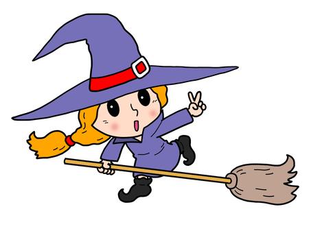 Cute witch 01