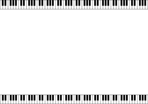 鍵盤上下フレーム