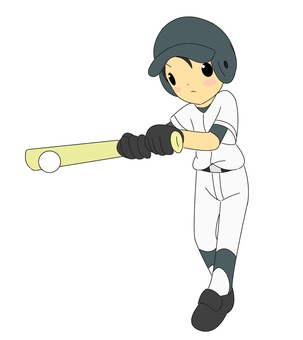 Baseball boy · batter
