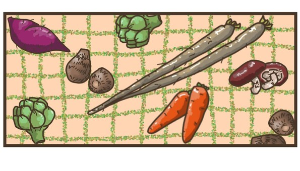 Autumn vegetable set ~