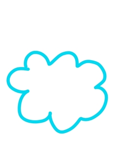 Handwritten cloud
