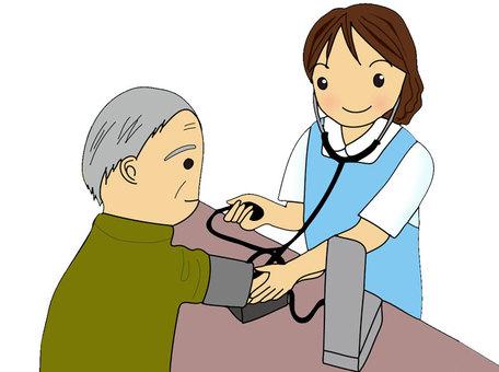 血壓測量護士