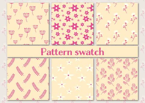 북유럽 풍 패턴 소재